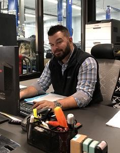 Brandon Anderson-Service and Parts Director